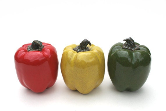 Bell Peppers Sculpture