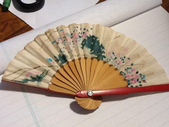 Vintage Small Fan JAPAN