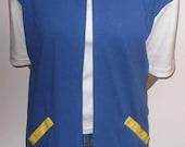 New Pokemon Ash Trainer Jacket Costume Adult Medium