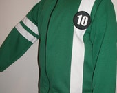 New Ben 10 Knit Jacket With Zipper Costume Size 6-8