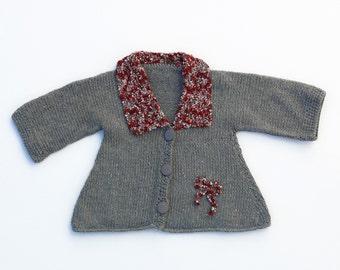 Unique baby girl sweater coat