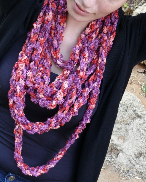 FANTASY stylish knitted layers' necklace