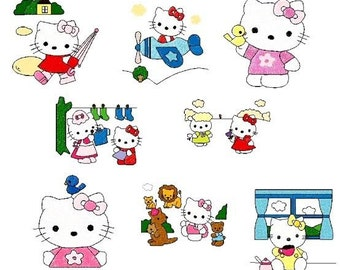 100 hello kittys