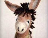 Stephen -  Felt Donkey.