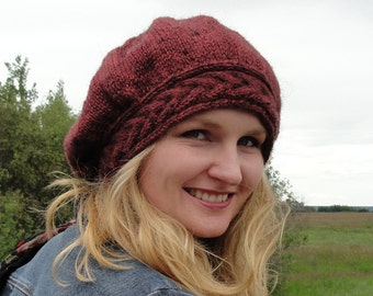 LUCY S CROCHETED BERET PATTERN CROCHET
