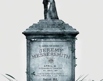 Jeremy Messersmith Gig Poster, April 2011, Minneapolis