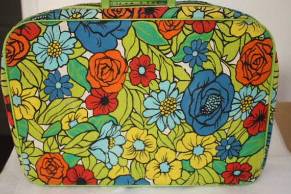 Floral Funky Mini Travel Case