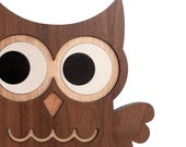1 Woodland Owl Forest Animal Bookend