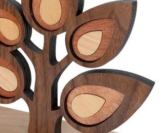Tree Branch Sapling Wood Bookend- Heirloom Baby Nursery Children