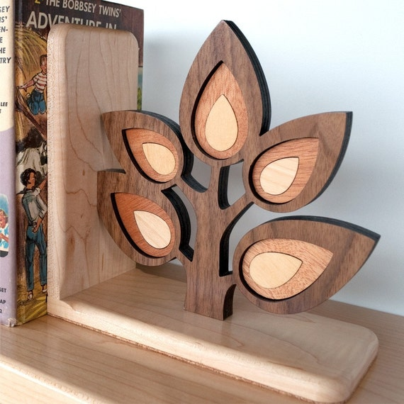 Woodland Tree Branch Forest Sapling Bookend (1)