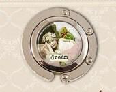 Purse holder. Dream girl