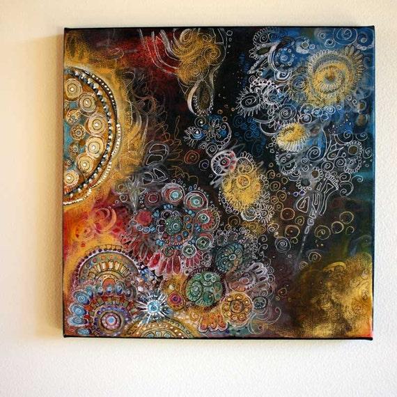 Original Fine Art painting Enigma