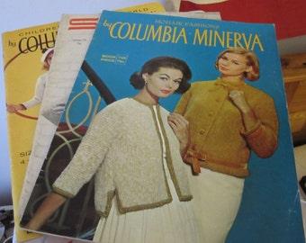 Set of 3 Vintage Knitting Patterns Books