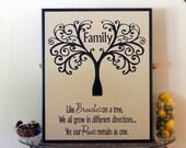 """The Family Tree 11.75""""X14"""""""