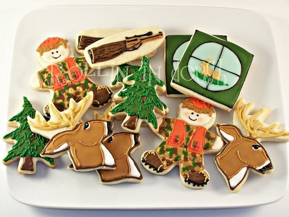 Deer Hunting Cookie Collection