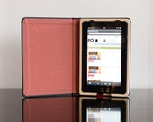 The Fire Keeper for Kindle Fire Tablet hard case Black/Paprika with Pocket Ships Priority 1-3 Day