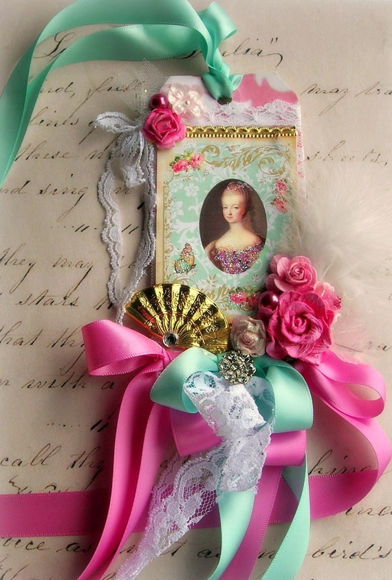 Marie Antoinette Inspired Wall Hanging Collage