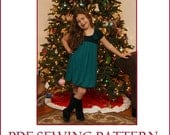 INSTANT DOWNLOAD pdf Dress Pattern Sofia's Holiday Party Dress PDF sewing Pattern