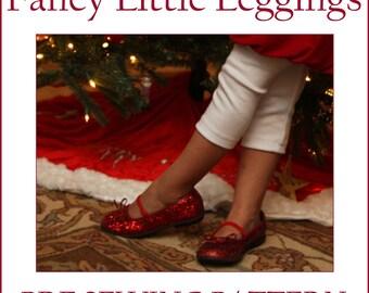 INSTANT DOWNLOAD Fancy Little Leggings PDF sewing pattern