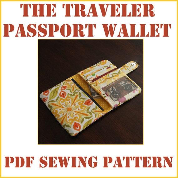 Instant Download The Traveler Passport Wallet By