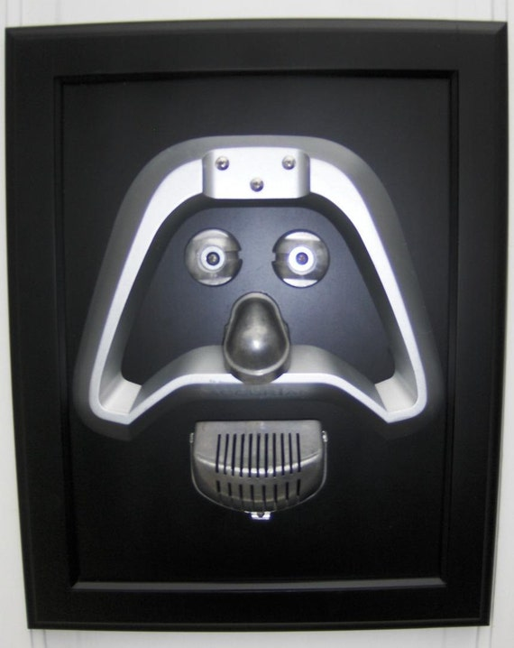 Darth Vader- Junk Art Assemblage- Sculpture