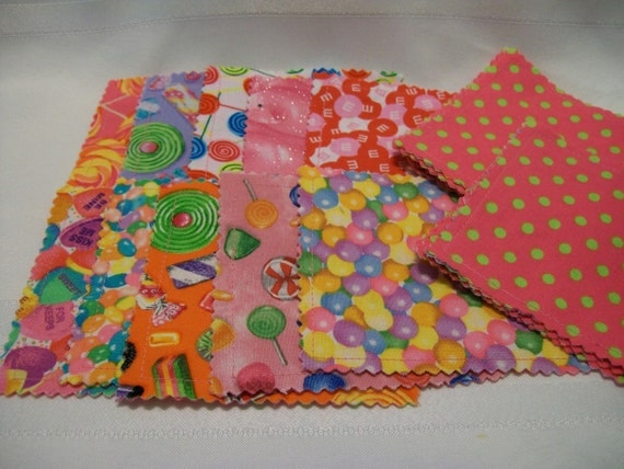 Make a Match Memory Match Game Hot Pink and lime green polka dot Girls