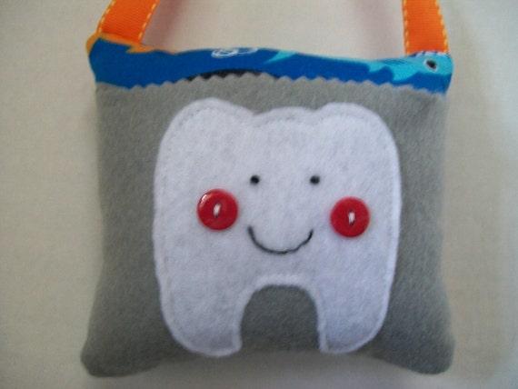 Tooth Fairy Pillow Boys Sharks