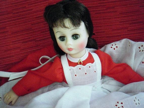 Vintage doll On sale - Madame Alexander - 1976 - Little Women - Jo - Reduced price - Was 30 dollars Now 20 dollars