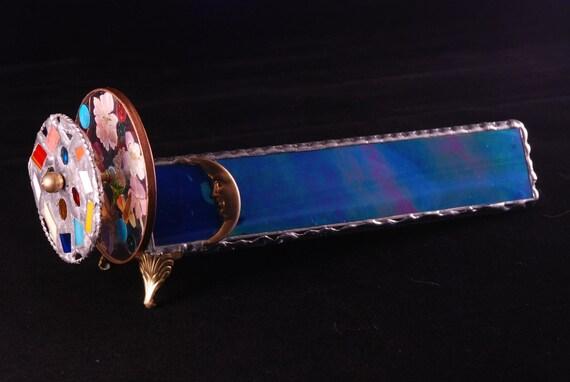 Stained Glass Kaleidoscope glass art gift home and living suncatcher art glass home decor