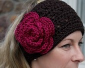 Crochet Headwrap - 5.5 Inch, customize your colors