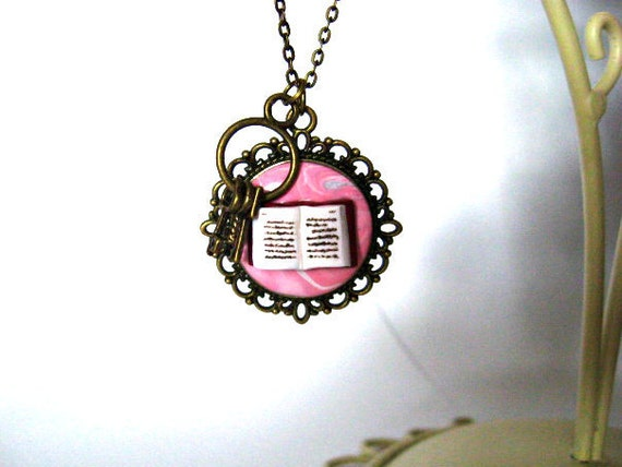 Creativity Necklace and Keys to Your Imagination by Coryographies