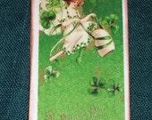 Six Lovely Irish Lass St.Patrick's Day Souvenir Gift Tags- Handmade
