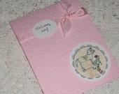 Sweet Little Baby Girl Card - Welcome Baby