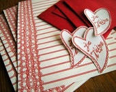 JE L'OVE YOU Corresponsence Set