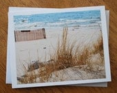 Dune Grass photo note card