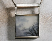 Reversible Sterling Necklace