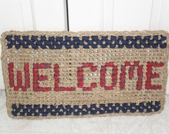 Welcome Grass Rug