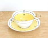 Vintage Bone China Teacup and Saucer by Ansley, England