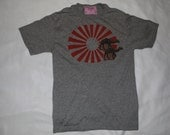 Henna Camel in Sunset T-Shirt - Men's Small