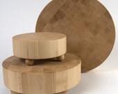 Large Hard Maple Butcher Block Cutting Board