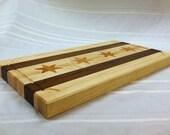 Professional Chicago Flag Cutting Board