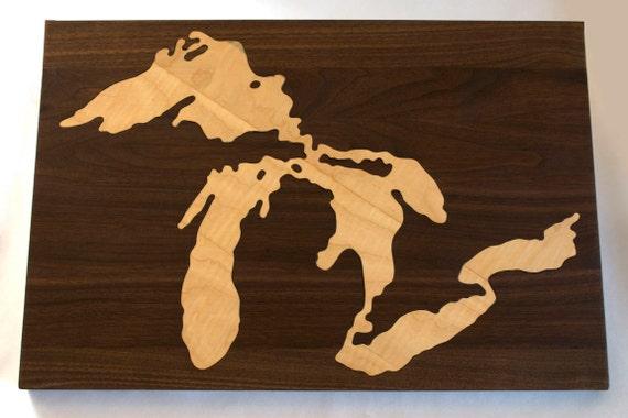 Great Lakes Cutting Board