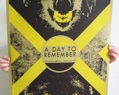 A Day To Remember concert poster