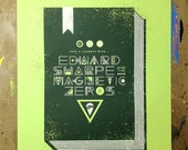 Edward Sharpe and the Magnetic Zeros concert poster
