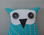 This is Norwood, stuffed owl
