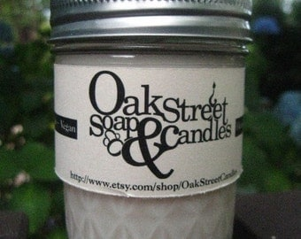 Fresh Snow Soy Candle 8oz