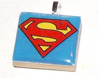 Superman Logo Necklace
