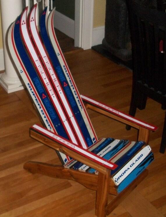 Childrens Adirondack Ski Chair