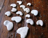 Reserved for Cynthia - Rocks Craft Supplies - Diy beach projects -  Natural heart shaped rocks- 22 genuine  heart shaped beach stones