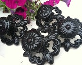 Knobs, Drawer Pulls, Black Drawer Pulls, Door Knobs, Black Door Knobs